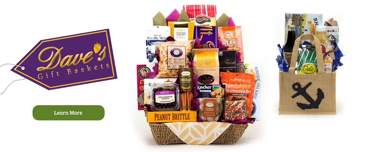 Customize your Dave's Gift Baskets at Le's Isle Rose Gift Store