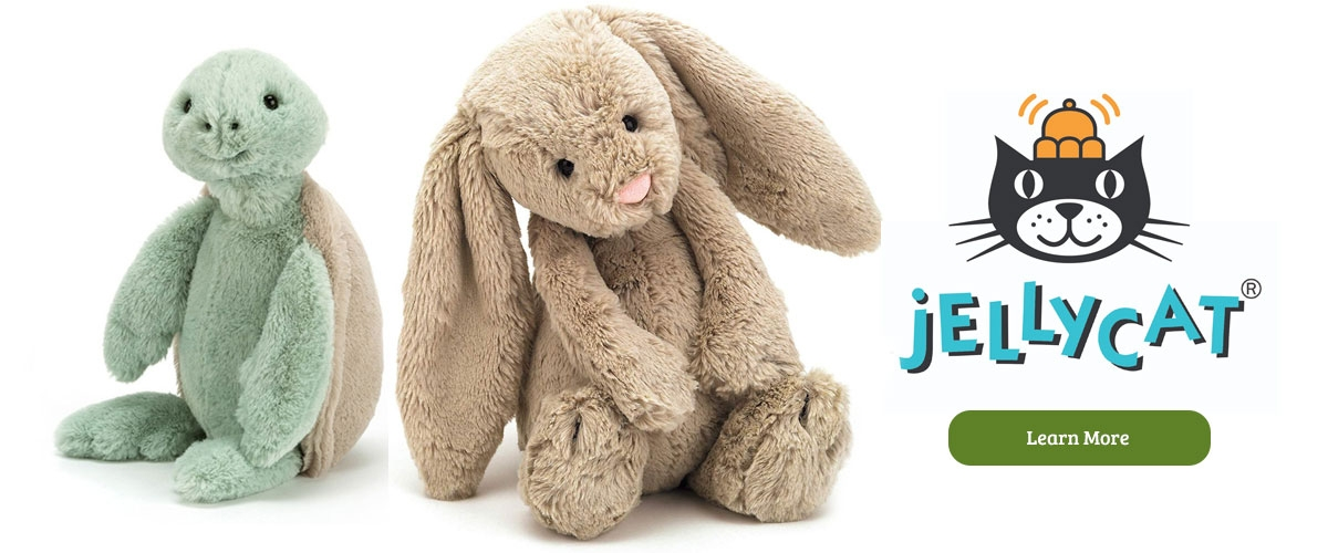 Jelly Cat stuffed animals for kids and the kid in all of us at Le's Isle Rose