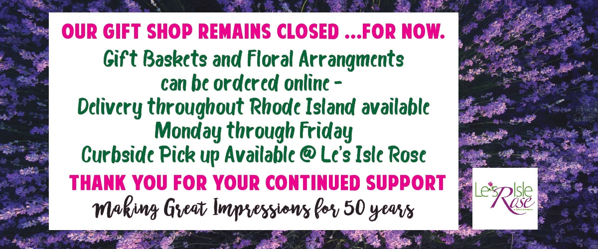 A message regarding COVID-19 from Le's Isle Rose